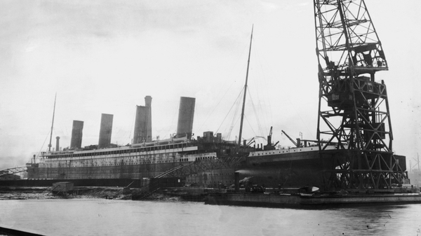 The Titanic sank after hitting an iceberg in the North Atlantic in 1912
