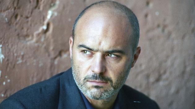 Talking Italian:  Luca Zingaretti as the cop Montalbano.