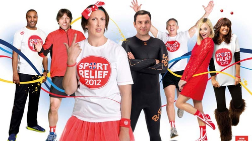 A host of celebrities did their bit to raise money for Sport Relief