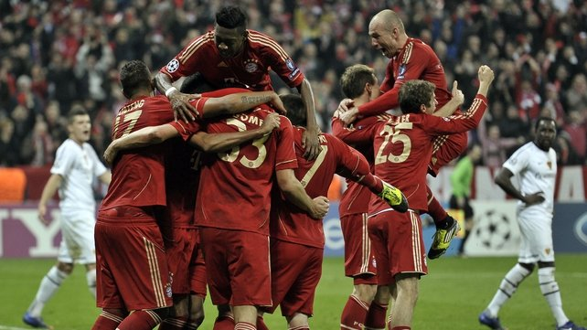 The German giants are chasing glory on three fronts this season