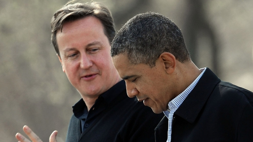 David Cameron and Barack Obama are expected to sketch out a timetable for the withdrawal