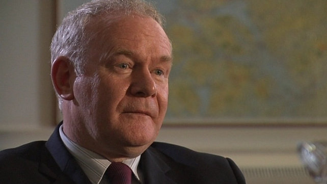 Martin McGuinness will remain as an MLA in Stormont