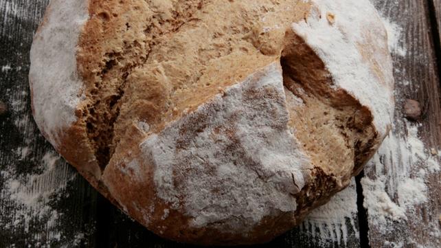 Irish Rarebit on Soda Bread