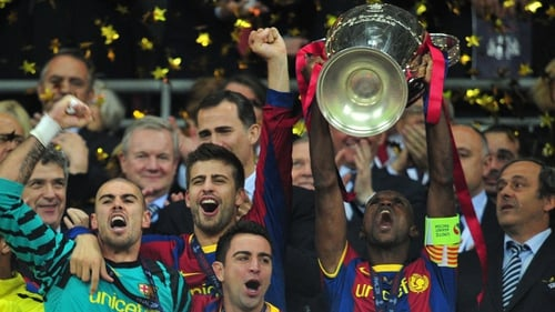 Eric Abidal was given the all-clear to play in December but will now spend a few days at a Barcelona hospital