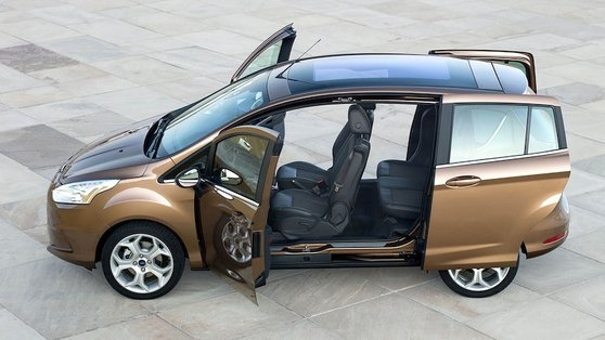 The Ford B Max has class-leading cabin access