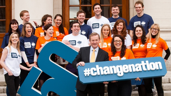 Enda Kenny launched the initiative last month