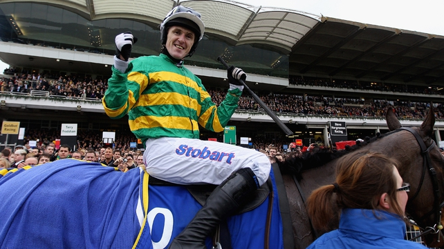 Tony McCoy's potential Albert Bartlett Novices' Hurdle mount At Fishers Cross is vying for favouritism for the race