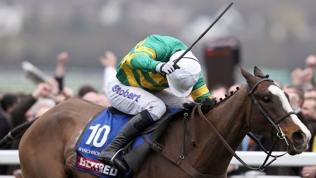 Synchronised is looking more and more likely to run in the John Smiths Grand National