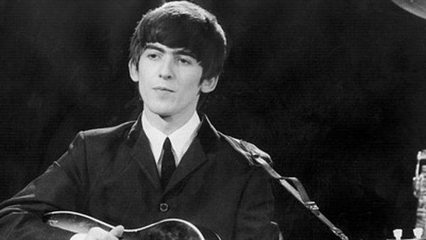 Rare George Harrison items have been unveiled