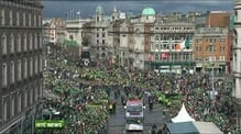 Six One News: St Patrick's Day: Dublin