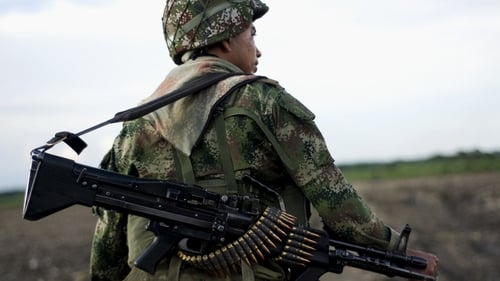 Thousands of people have been killed in five decades of conflict in Colombia