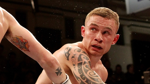 Carl Frampton is hoping for a British title shot against Scott Quigg