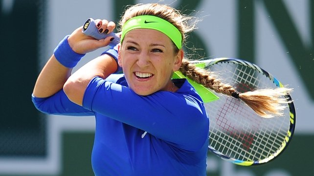 Victoria Azarenka is now unbeaten in 23 games