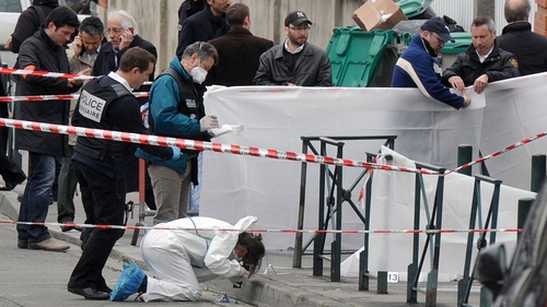 A religious education teacher and three students were among the victims