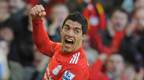 Suarez was on hand to make sure Liverpool did bot go down to a fourth consecutive defeat