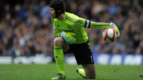 a2d6bf1e627 Petr Cech was displaced as Chelsea's first-choice goalkeeper last season