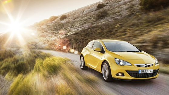 GTC is the sporty version of Opel's Astra