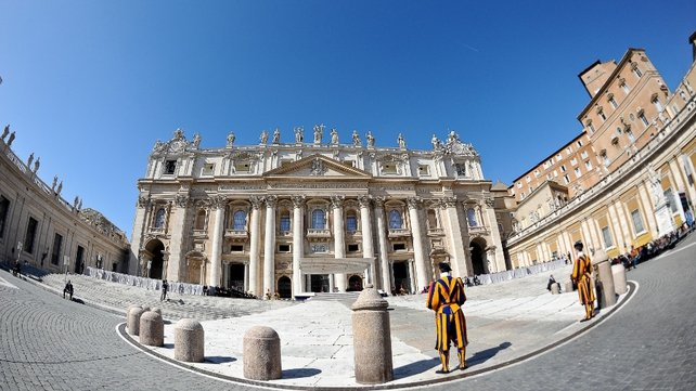 The 'one-person' embassy will be at a new location in the Vatican