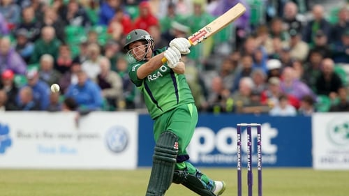 Gary Wilson top scored for Ireland with 53 not out