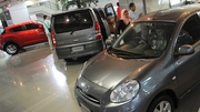 A reduction in the number of cars sold in August drove retail sales volumes lower in the month