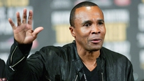 Damien O'Meara chats with boxing legend and former World Champion Sugar Ray Leonard