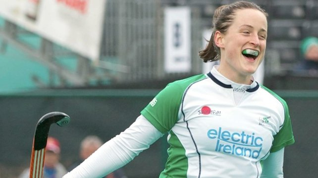 Audrey O'Flynn was on target again for Ireland