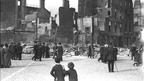 O'Connell Street after the Easter Rising (1916)   © RTÉ Stills Library 0510/070