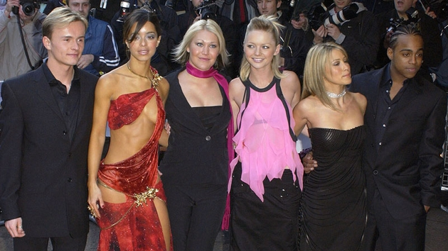 Six of the seven member of S Club 7 minus Paul Cattermole