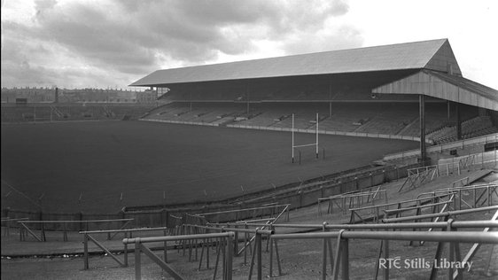 A view of Croke Park, Dublin, in 1963 © RTÉ Stills Library 1006-001