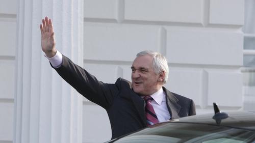 Bertie Ahern surrendered €14,600 of his pension