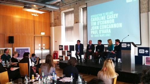 The event kicked off yesterday in the Guinness Storehouse