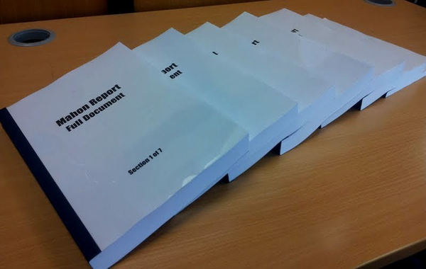 Dáil debate on report which cites inappropriate payments