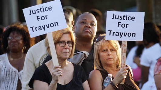 Protests and Anger after Trayvon Martin killer acquitted in Florida