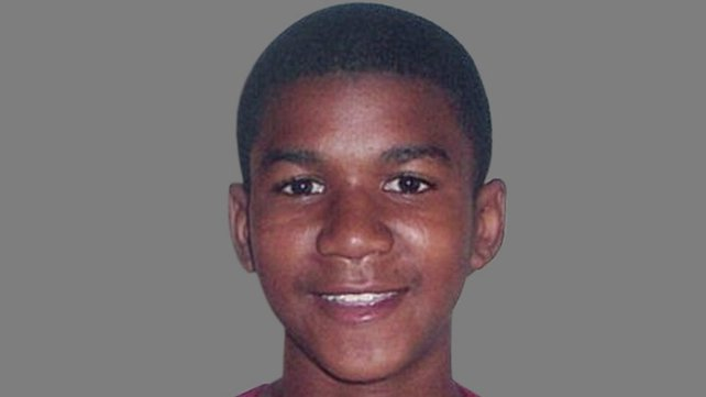 Trayvon Martin was shot dead by a neighbourhood watch volunteer