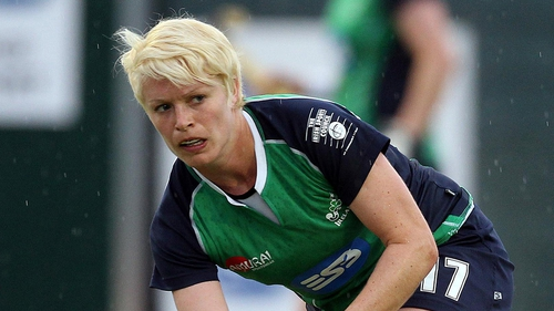Nikki Symmons - the Ireland captain will lead the side in Belgium today