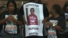 Trayvon Martin's kiling brought out a wave of protests across the US