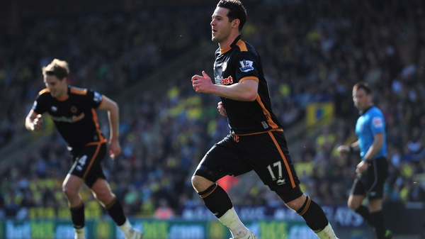 Matt Jarvis had given Wolves the lead