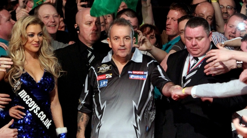 Phil Taylor had to overcome a shaky start
