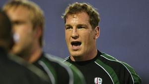 Former London Irish forward Bob Casey was previously the club's operations director