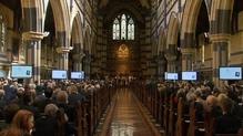 Jim Stynes' Funeral