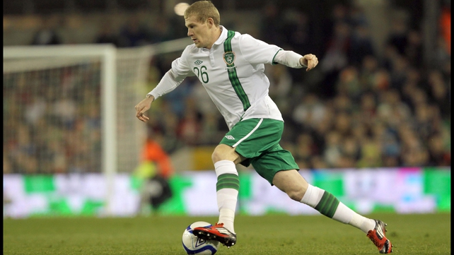 James McClean started for Ireland