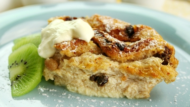 Rachel Allen's Bread and Butter Pudding - The ultimate comfort food as the weather gets colder.