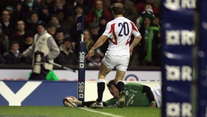 Horgan scoring another famous try against England