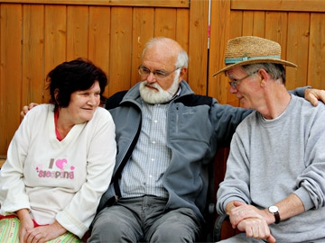 Sally Donoghue, George Gmelch and Kevin Donoghue