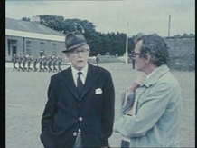 Emmet Dalton and Cathal O'Shannon from the documentary 'Emmet Dalton Remembers'.