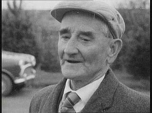 First World War veteran and farm labourer Johnny Burke interviewed for 'On The Land' in 1965.