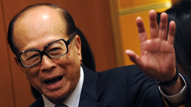 Li Ka-shing has controlled Hutchinson Whampoa since 1979 through Cheung Kong Holdings