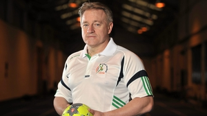 """Eddie O'Sullivan: """"I'm guided as to what this team can achieve by Lúcás Ó'Ceallacháin [IOHA general manager], who invited me on board"""