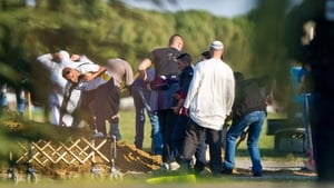 The grave is dug ahead of the burial of Mohamed Merah