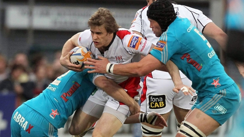 Andrew Trimble starts at No 14 for Ulster